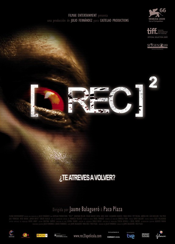 Il poster spagnolo per il film Rec 2