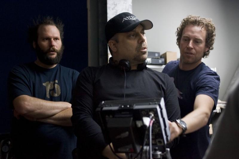 Il regista Dominic Sena sul set del film Whiteout - Incubo bianco