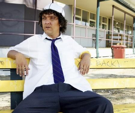 L'attore australiano Chris Lilley in una delle sue molteplici trasformazioni nello show Summer Heights High