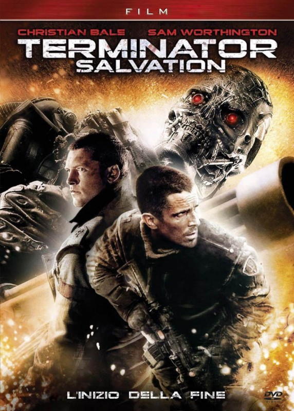 La copertina di Terminator Salvation (dvd)