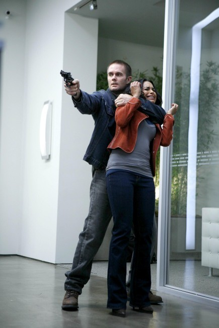 La guest star Garret Dillahunt in un momento dell'episodio Honey della serie Lie to Me