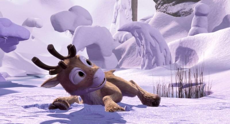 Un'immagine del film d'animazione Niko una renna per amico