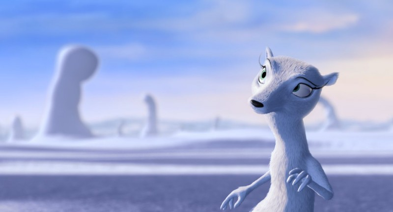 Un'immagine tratta dal film d'animazione Niko una renna per amico