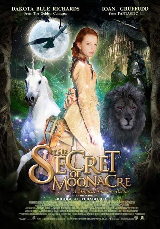 Un poster del film I segreti di Moonacre