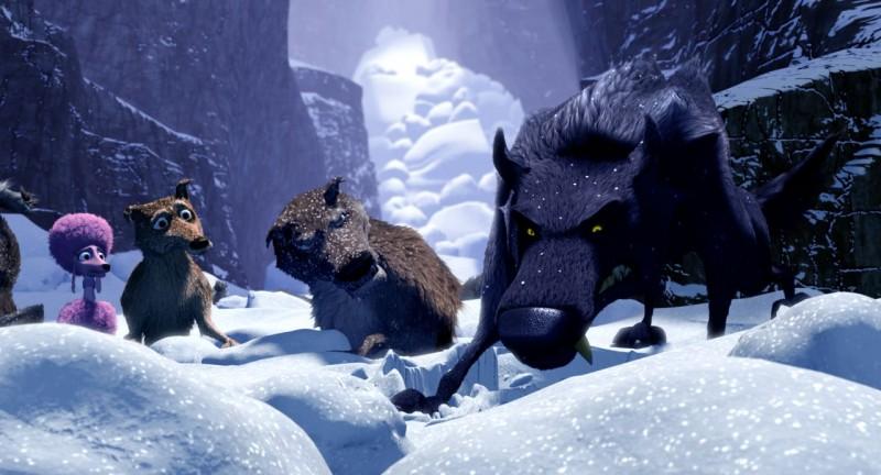 Una scena di Niko una renna per amico