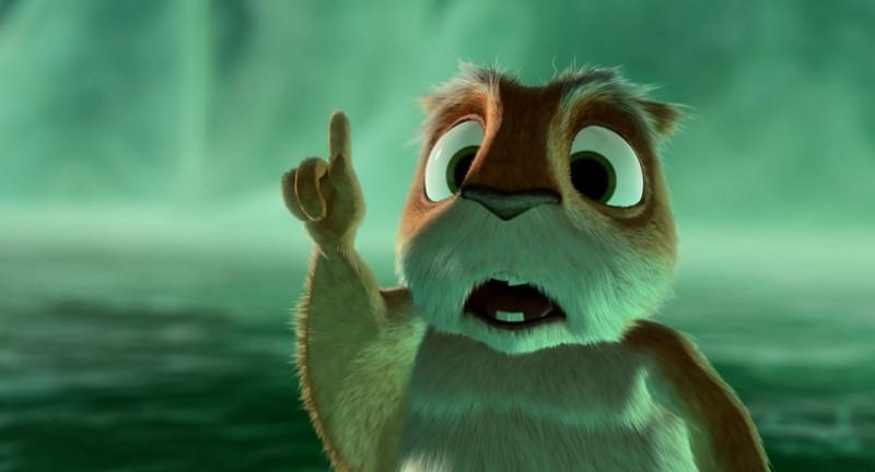 Una simpatica immagine tratta dal film d'animazione Niko una renna per amico