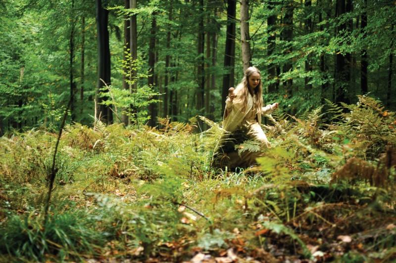 Una suggestiva sequenza di Vision, diretto da Margarethe Von Trotta
