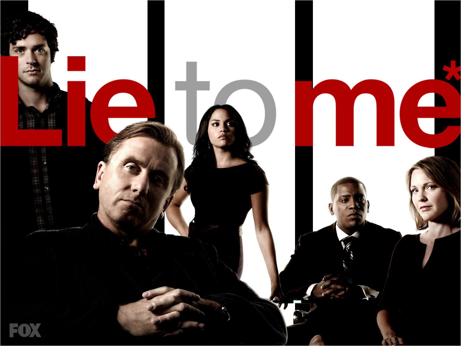 Un wallpaper con il cast principale della stagione 2 di Lie to Me