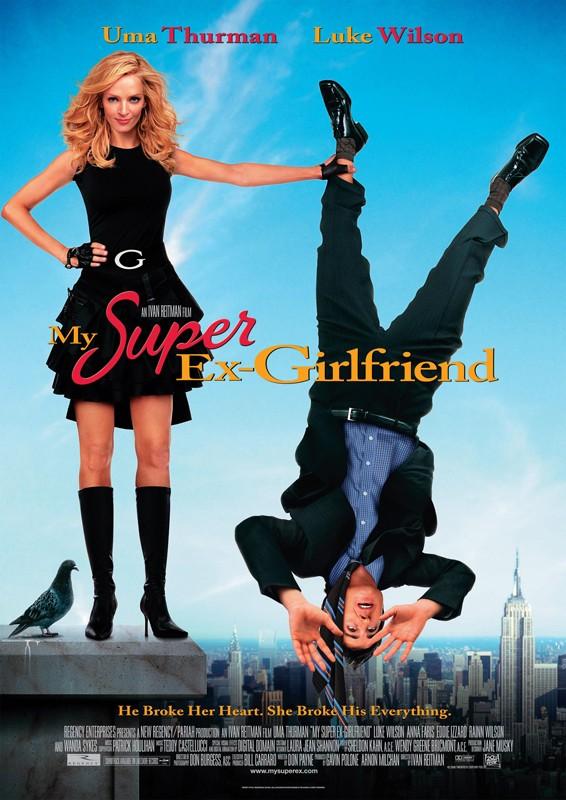 Il poster americano del film La mia Super Ex-Ragazza