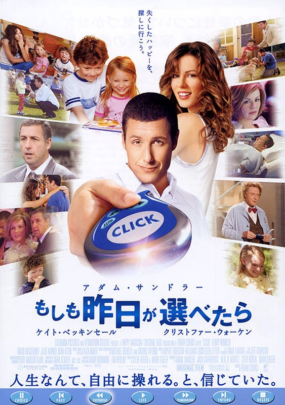 Il poster giapponese del film Cambia la tua vita con un click