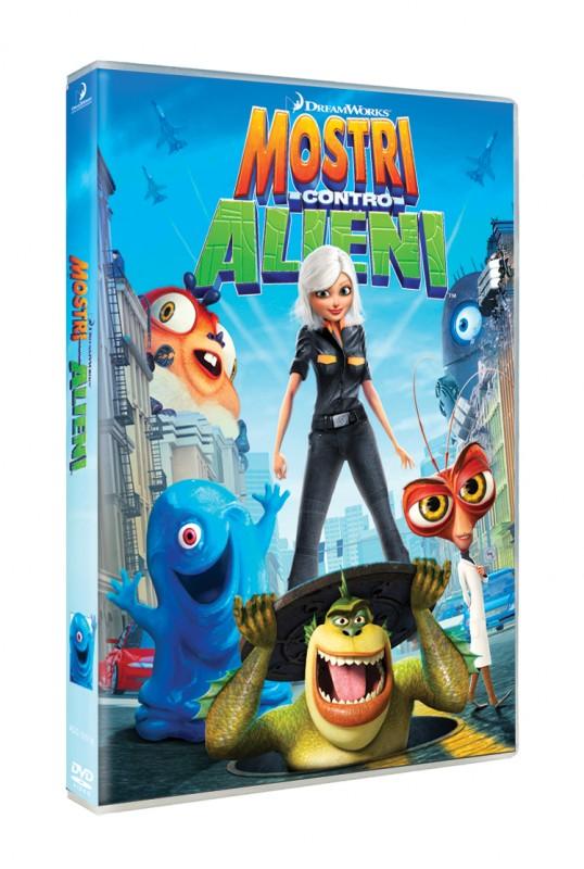 La copertina di Mostri contro alieni (dvd)