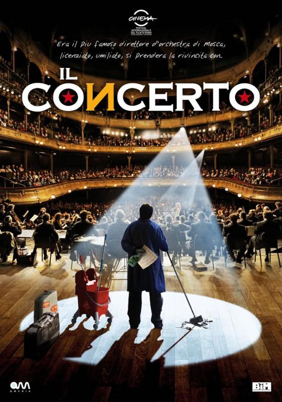 La locandina italiana del film Il concerto