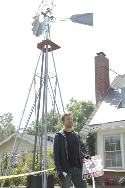 TJ Thyne in una scena dell'episodio Beautiful Day in the Neighborhood della serie Bones