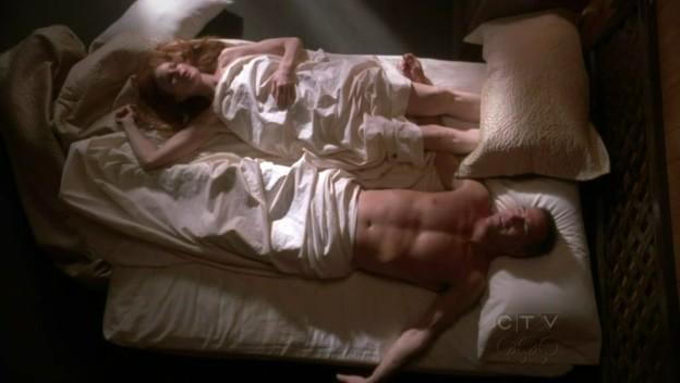 Desperate Housewives: Marcia Cross e Richard Burgi (Bree Van De Kamp e Karl Mayer) in Being Alive, secondo episodio della sesta stagione