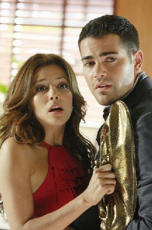 Desperate Housewives, stagione 6: Eva Longoria e Jesse Metcalfe nell'episodio The God-Why-Don't-You-Love-Me Blues