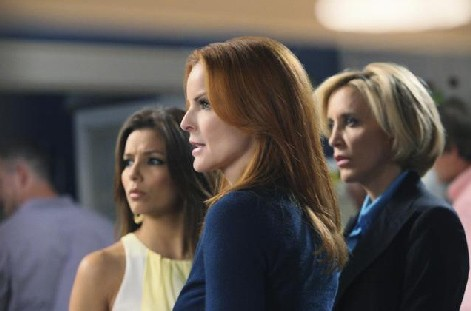 Desperate Housewives, stagione 6: Marcia Cross, Felicity Huffman ed Eva Longoria nell'episodio Everybody Ought to Have a Maid