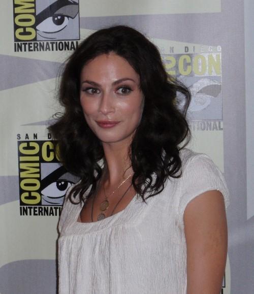 Foto dell\'attrice Joanne Kelly al Comic.Con