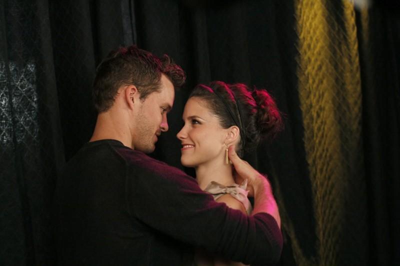 Julian Baker (Austin Nichols) e Brooke Davis (Sophia Bush) in una scena dell'episodio Believe Me, I'm Lying di One Tree Hill