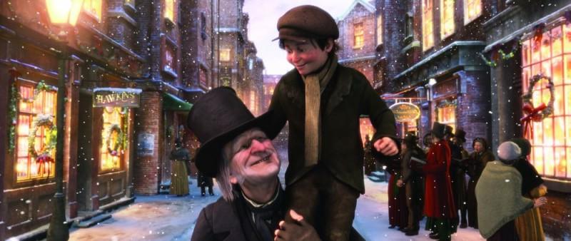 Un'immagine del film A Christmas Carol