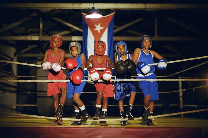 Una scena del film Sons of Cuba (2009)