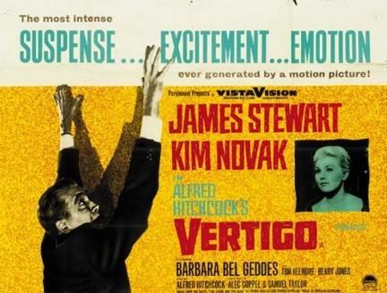 Lobby card promozionale del film La donna che visse due volte ( 1958 )