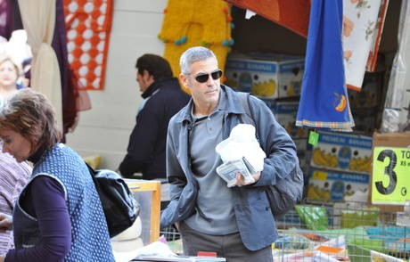 Sulmona: George Clooney sul set di A Very Private Gentleman