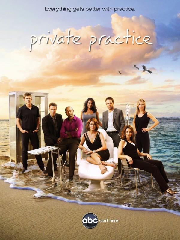 Un poster della stagione 3 di Private Practice
