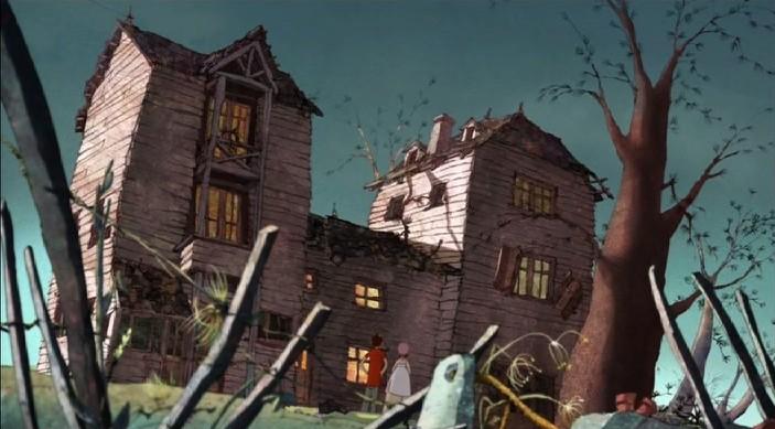 Una scena del film d'animazione Nat e il segreto di Eleonora (Eleanor's Secret)