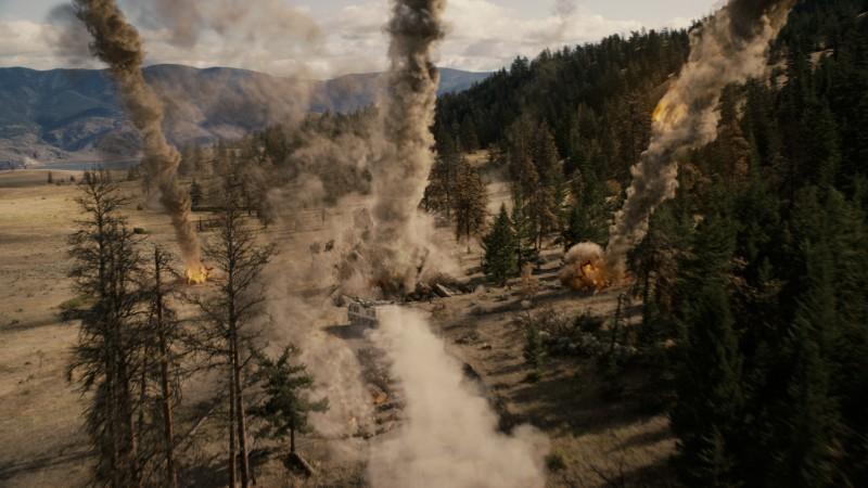 2012: una spettacolare sequenza del film di Emmerich.