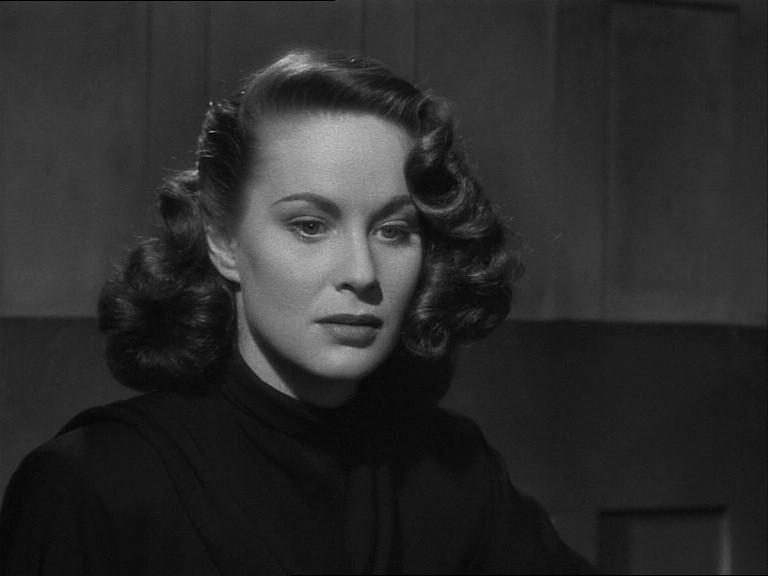 Alida Valli in una scena del film Il caso Paradine