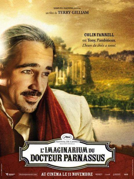 Character poster francese (Colin Farrell) per Parnassus - L'uomo che voleva ingannare il diavolo