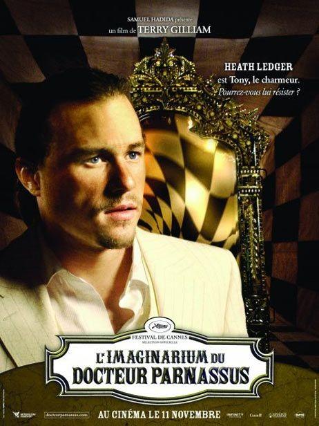 Character poster francese (Heath Ledger) per Parnassus - L'uomo che voleva ingannare il diavolo