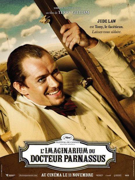 Character poster francese (Jude Law) per Parnassus - L'uomo che voleva ingannare il diavolo