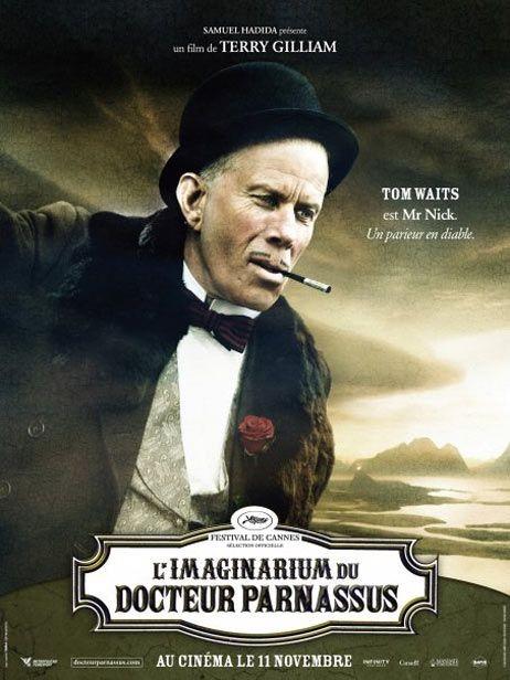 Character poster francese (Tom Waits) per Parnassus - L'uomo che voleva ingannare il diavolo