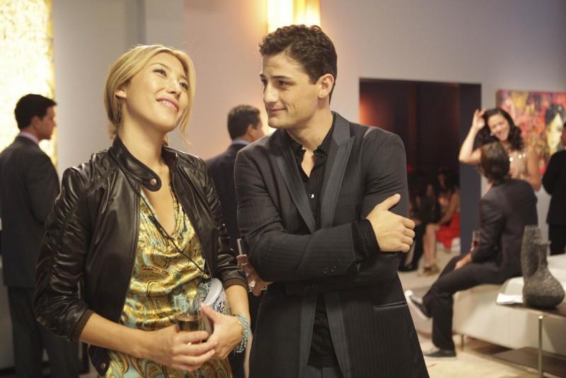 Dollhouse: Dichen Lachman ed Enver Gjokaj nell'episodio Belonging