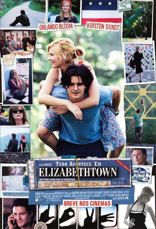 Il poster brasiliano del film Elizabethtown