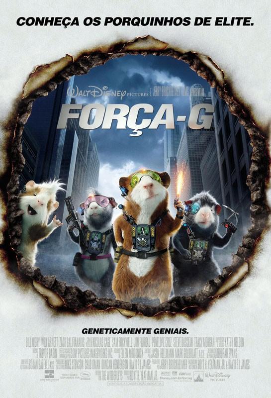 Il poster brasiliano di G-Force: Superspie in missione