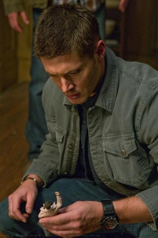 Jensen Ackles in una scena dell'episodio I Believe the Children Are Our Future di Supernatural
