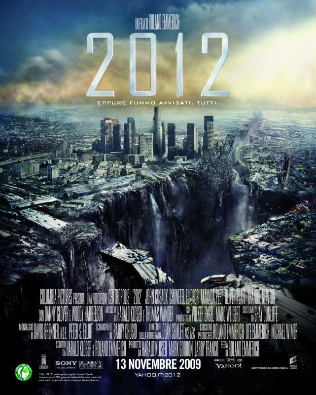 Poster italiano con Los Angeles per il disaster movie 2012