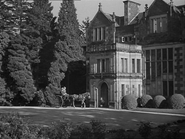 Una scena del film Il caso Paradine ( 1947 )