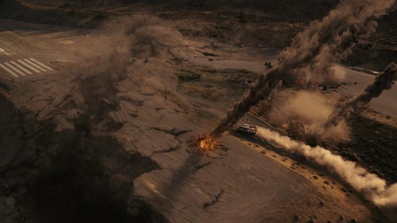 Una spettacolare sequenza di 2012, di Roland Emmerich