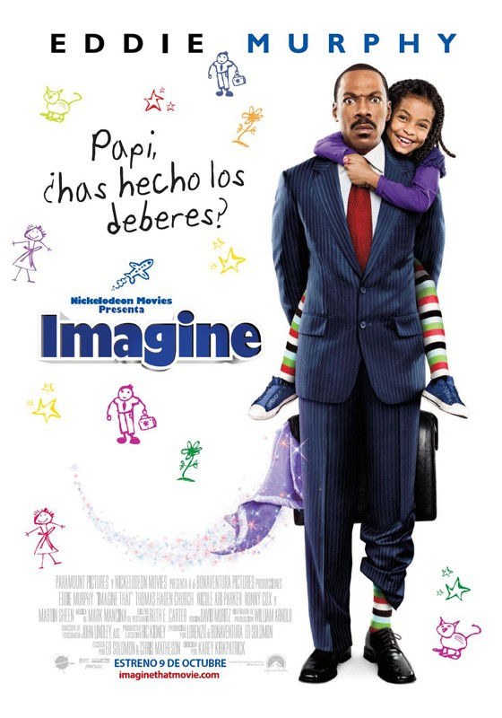 Il poster spagnolo del film Imagine That