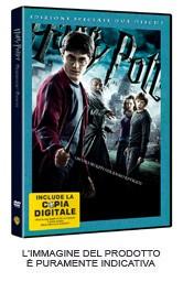La copertina di Harry Potter e il principe mezzosangue - ed. doppio disco (dvd)