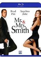 La copertina di Mr. and Mrs. Smith (blu-ray)