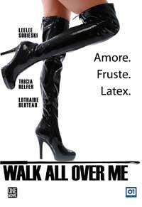La copertina di Wal all over me (dvd)