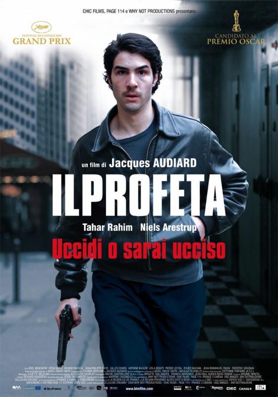 La locandina italiana del film Il profeta