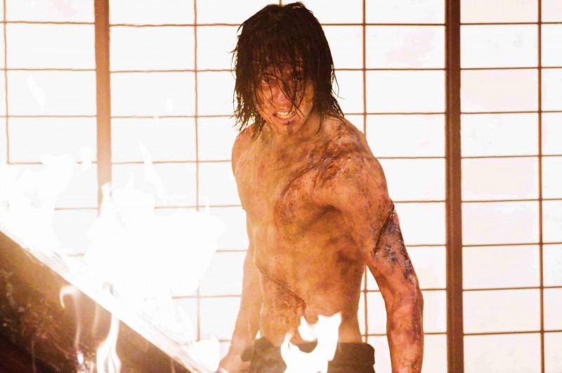 Rain in un'immagine del film Ninja Assassin