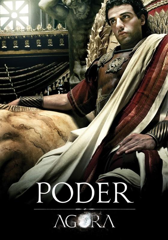 Un character poster di Max Minghella per il film Agora di Amenabar