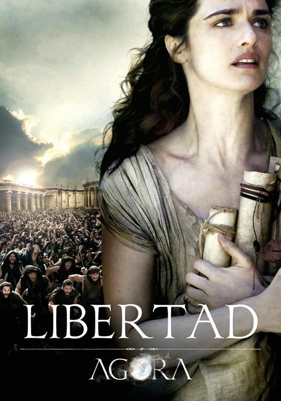 Un character poster di Rachel Weisz per il film Agora di Amenabar