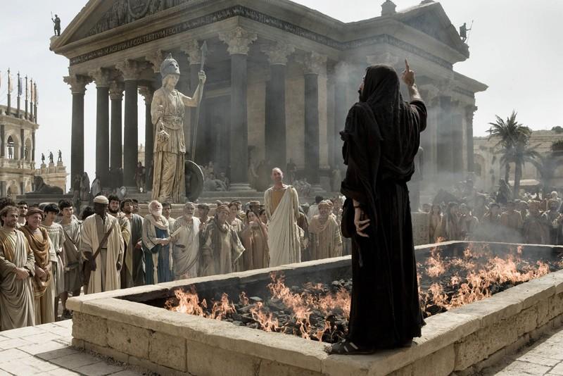 Una scena del film Agora
